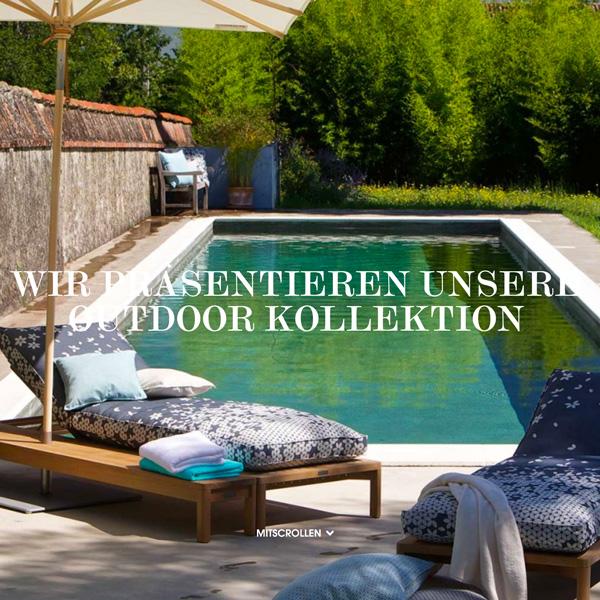 christian fischbacher outdoorstoffe deko wohnatelier cham zug. Black Bedroom Furniture Sets. Home Design Ideas